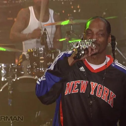 Buttons The Pussycat Dolls Snoop Dogg: Gin & Juice (Live On Letterman)